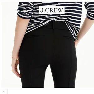 J. Crew Tall Cameron slim crop black pants 10T